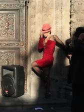 Une danseuse de rue