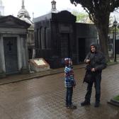 Temps de toussaint au cimetière de Ricoleta