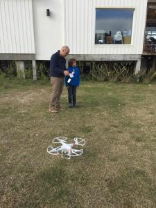 Edouardo filme les baleines avec son drone